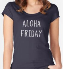 Aloha Friday Women's Fitted Scoop T-Shirt