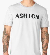 Name Ashton / Inspired by The Color of Money Men's Premium T-Shirt