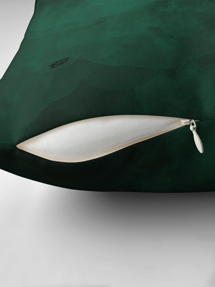 Alternative Ansicht von Emerald #minimal #design #kirovair #decor #buyart #green #design #elements Bodenkissen