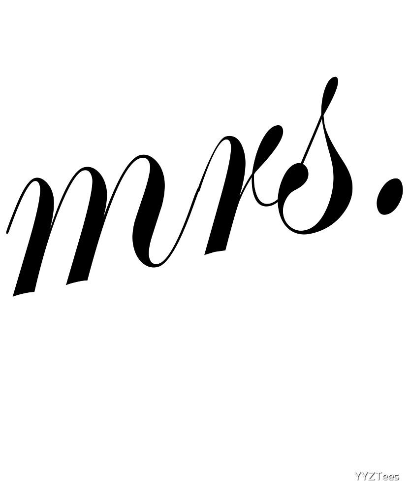 Mrs. Wifey Wedding Marriage Bachelorette Trending by YYZTees