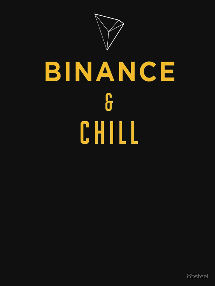 Binance Chill Meme Shirt Cryptocurrency Hoodie
