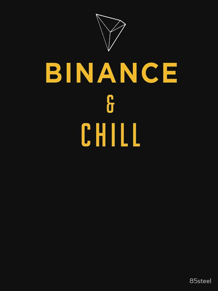 Binance Chill Meme Shirt Cryptocurrency Hoodie