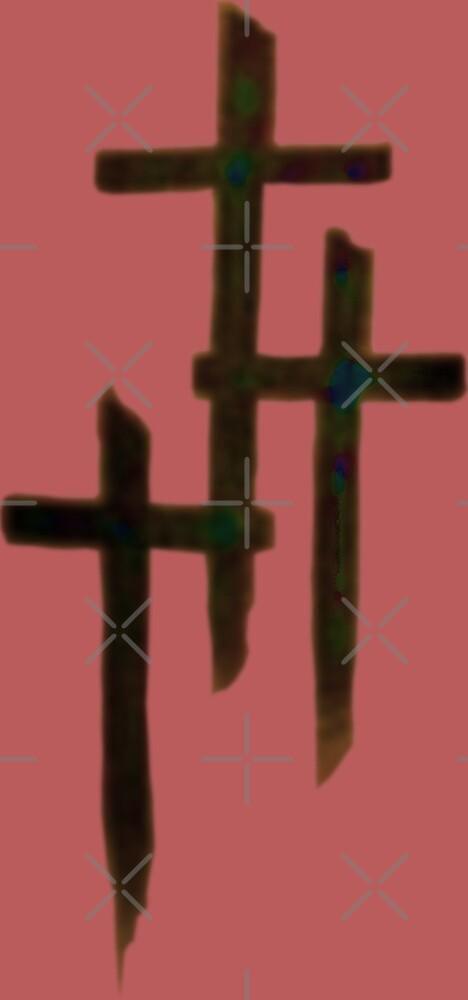 Three Crosses by painterfrank
