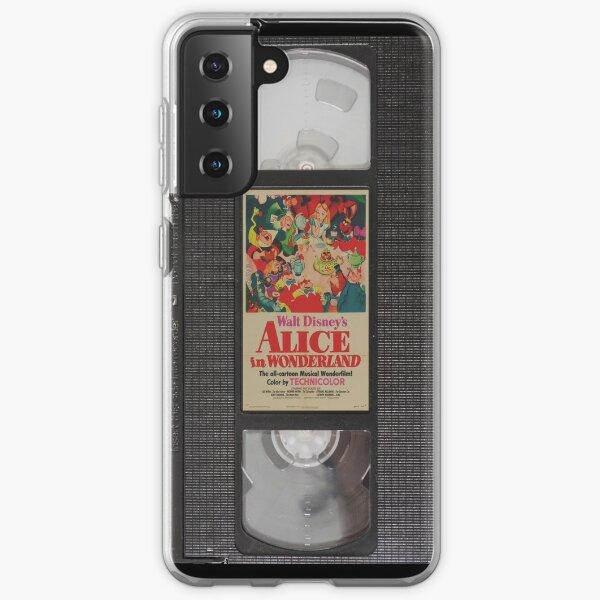 Alice in Wonderland VHS Samsung Galaxy Soft Case