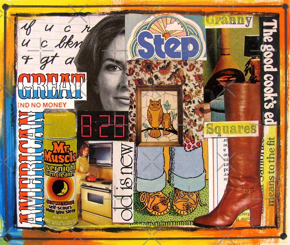 '70s Collage by collageDP