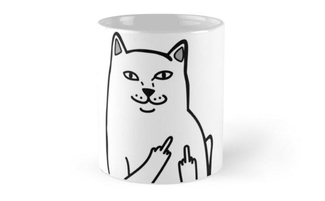 F*ckU Cat - Lord Nermal by laurynlongo