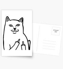 F*ckU Cat - Lord Nermal Postcards