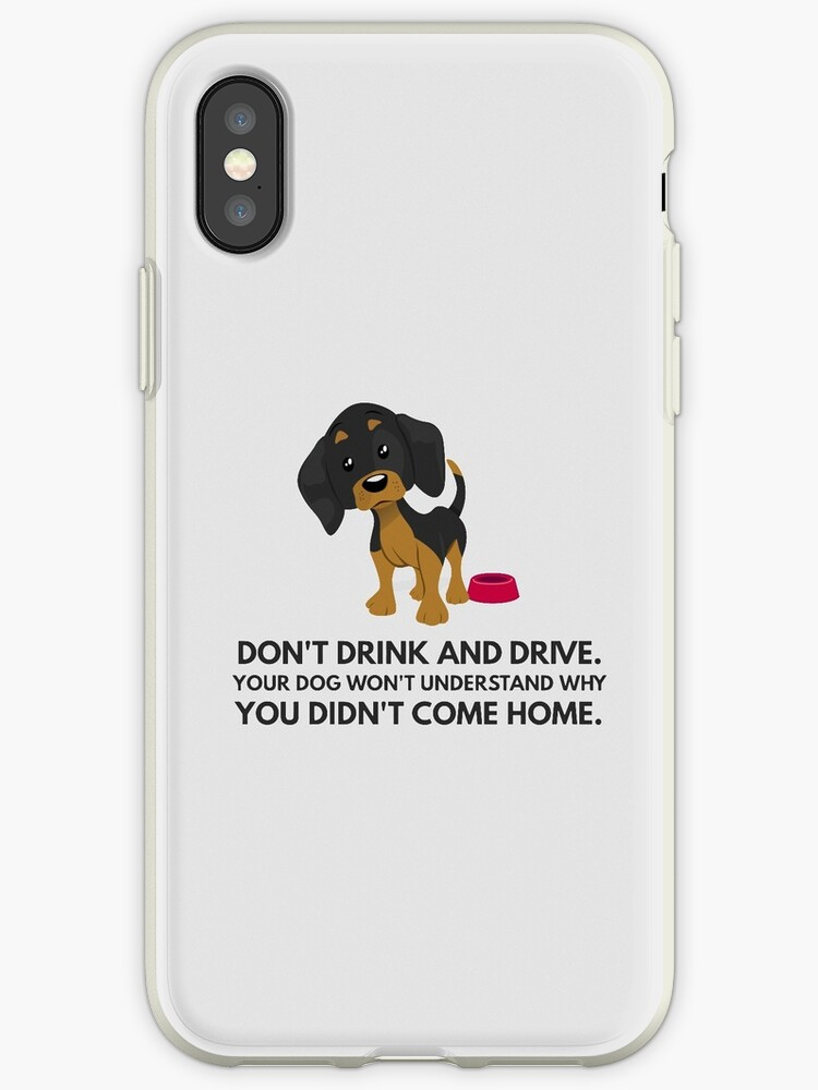Don't drink and drive: quote from a dachshund by mydachshund