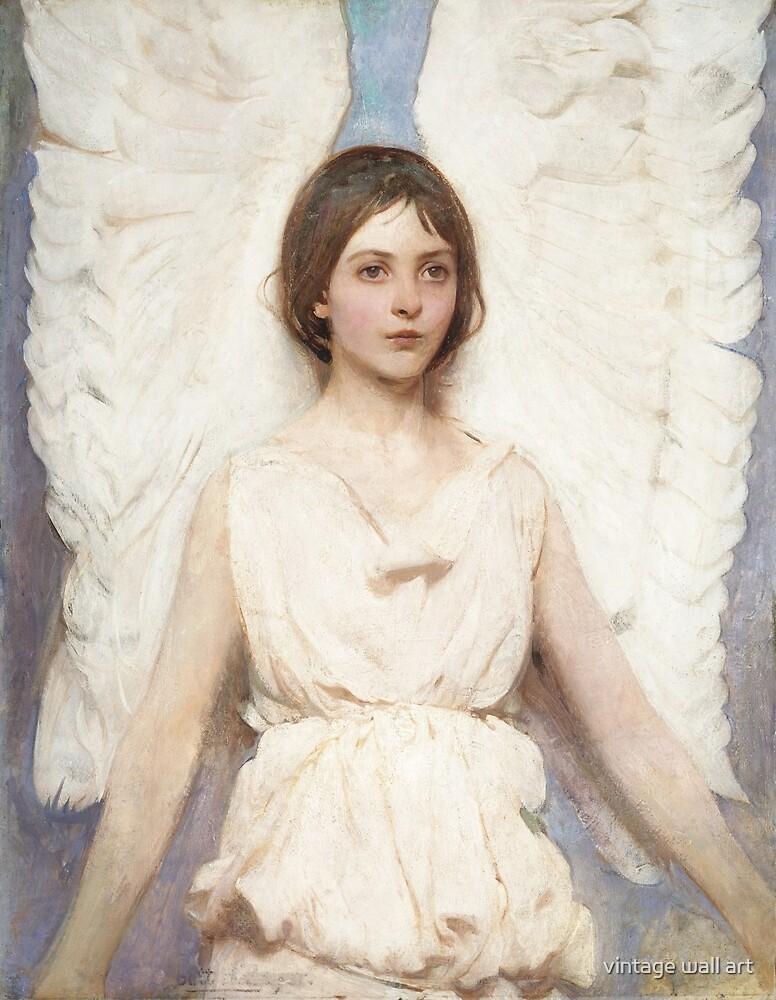 Angel, 1887 by Abbott Handerson Thayer by fineearth