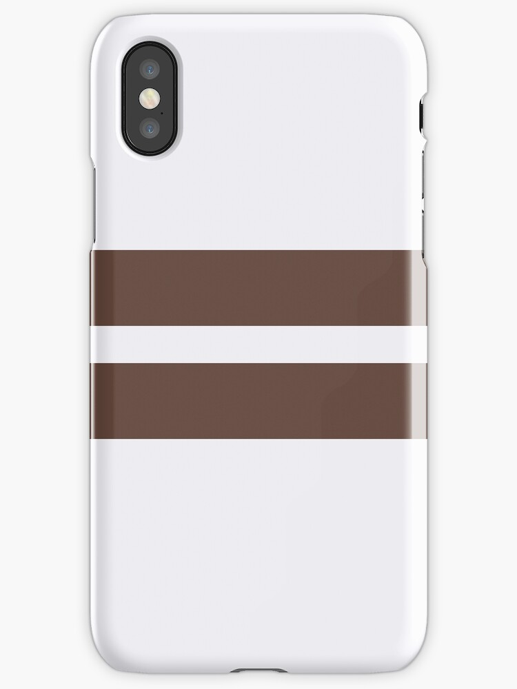 White/Brown Stripes by sidebar