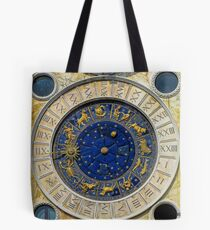 Astrological Clock, Venice, Italy Tote Bag