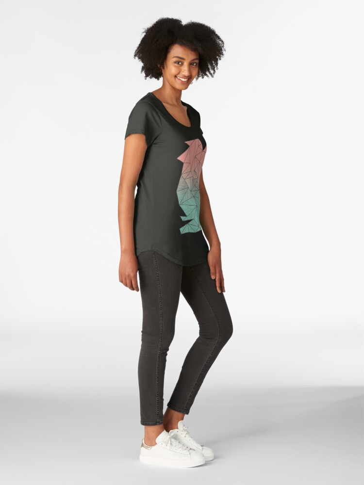 Alternate view of Bodhi Rays Premium Scoop T-Shirt