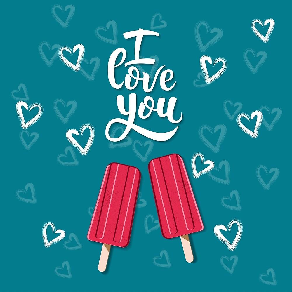 My sweet Ice-cream, i love you by nataliakurtidi