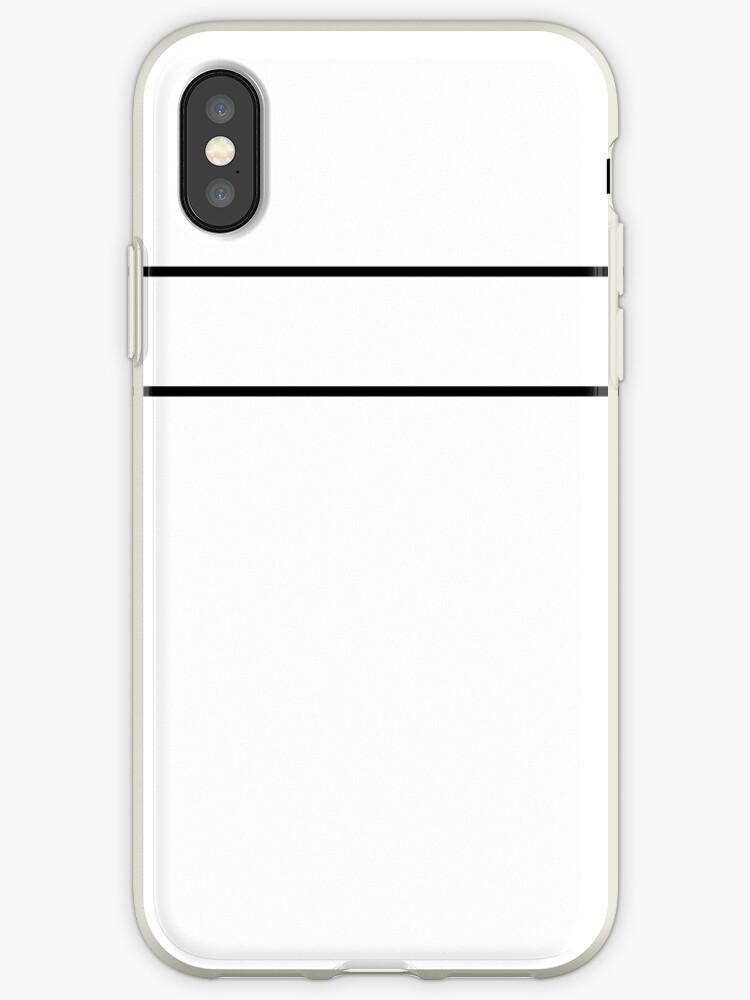White/Black Minimalist Stripes by sidebar