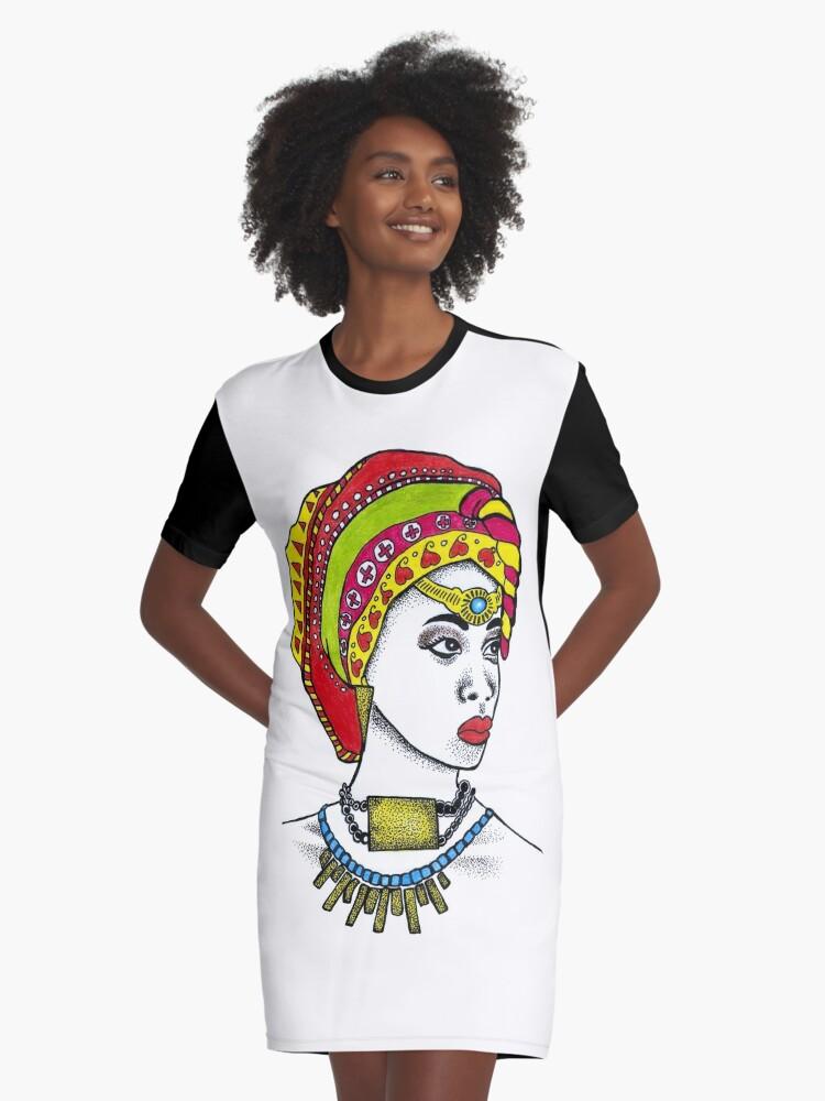 Art Par Robe T Highartdesigns Africaine Africain Américain' Shirt Afro 'femme qMVGSUpz