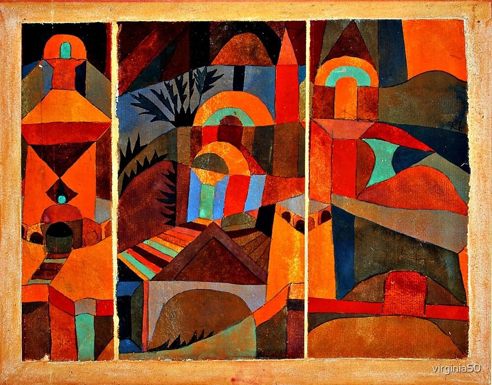 Klee - Temple Gardens by virginia50