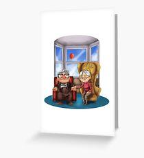 An alternative End Greeting Card