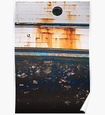 Boat Hull Texture Poster
