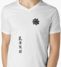 ARROW - Oliver Queen tattoos Men's V-Neck T-Shirt