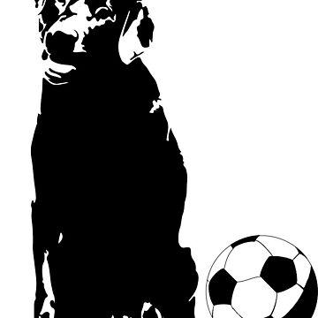 Perro de fútbol de platyopus