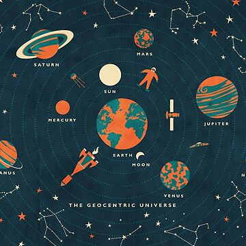 The Geocentric Universe by daviz