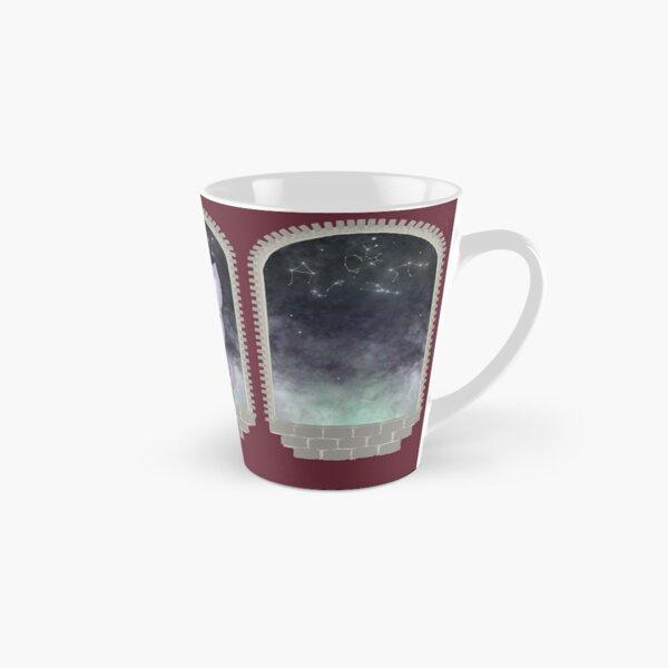 Mystic Miku | Crystal Ball & Zodiac | Wine Red Tall Mug
