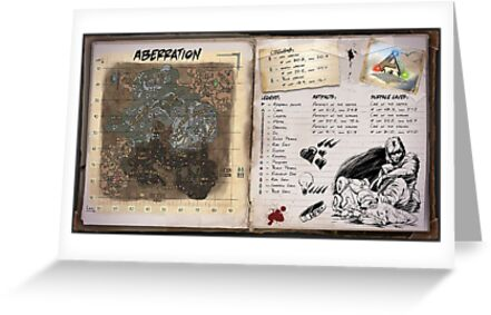 'Ark surival evolved aberration' Greeting Card by atreyu300