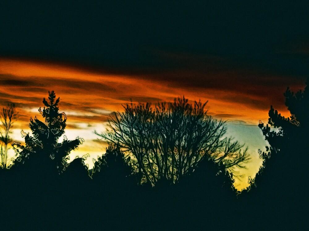 Heaven's Warm December Sky by Judi Taylor