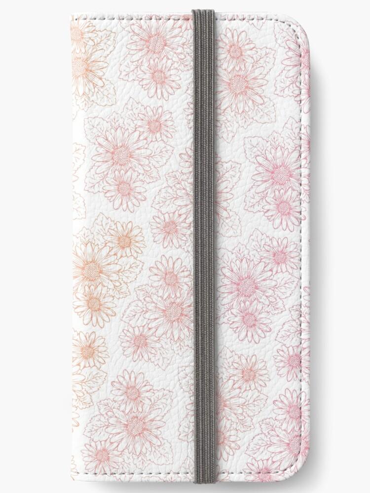 Kawaii Sunset Floral Print by Bstecdesign
