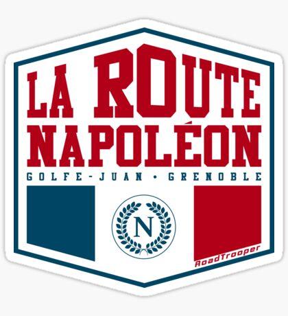 La Route Napoleon T-shirt Sticker Design Sticker