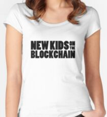 New Kids On The Blockchain Women's Fitted Scoop T-Shirt