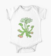 Venus Flytrap | Carnivorous Plant Gardening Botanical One Piece - Short Sleeve