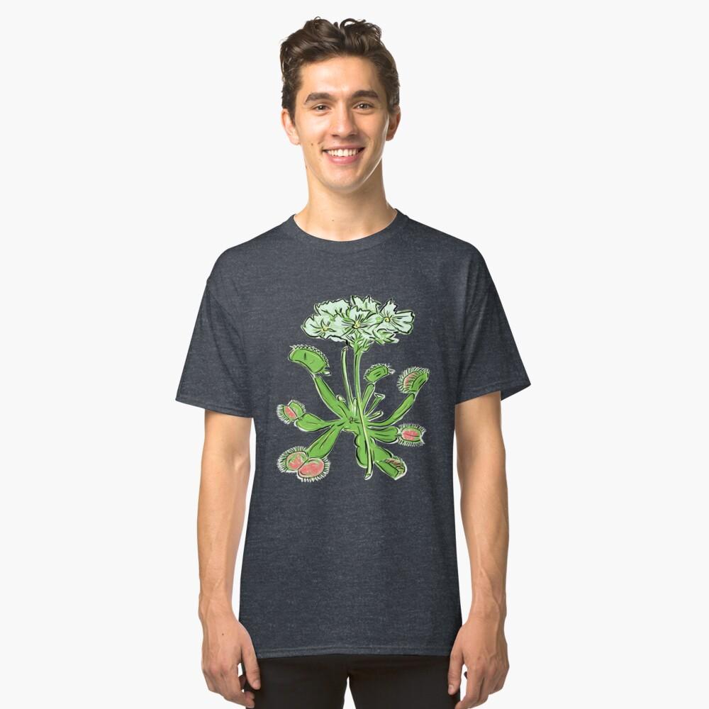 Venus Flytrap | Carnivorous Plant Gardening Botanical Classic T-Shirt Front