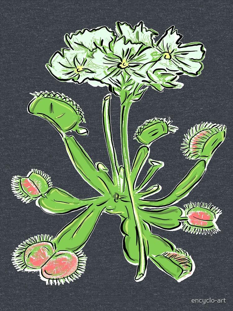 Venus Flytrap | Carnivorous Plant Gardening Botanical by encyclo-art