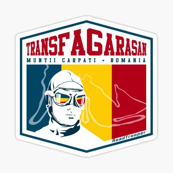 Transfagarasan Highway Romania T-Shirt + Sticker Sticker