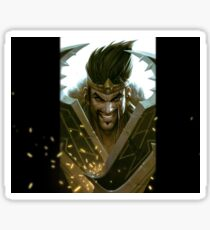 Draven LoL Sticker
