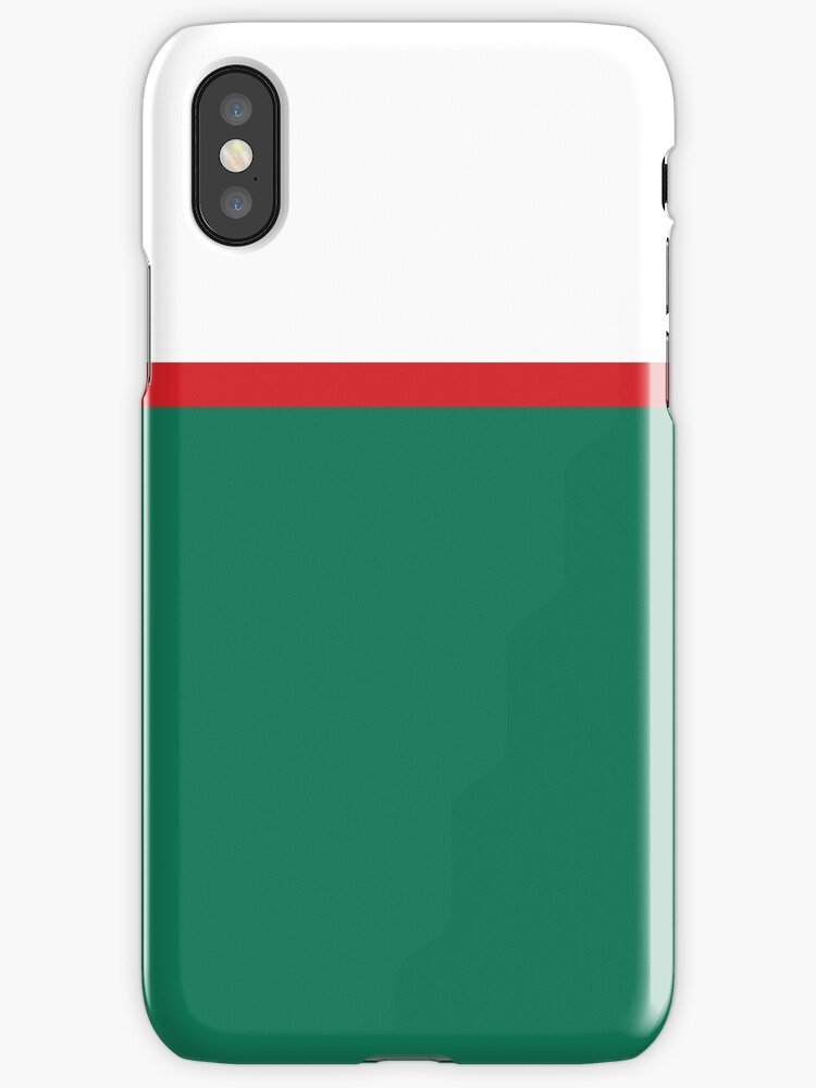 White/Green/Red Colorblock by sidebar