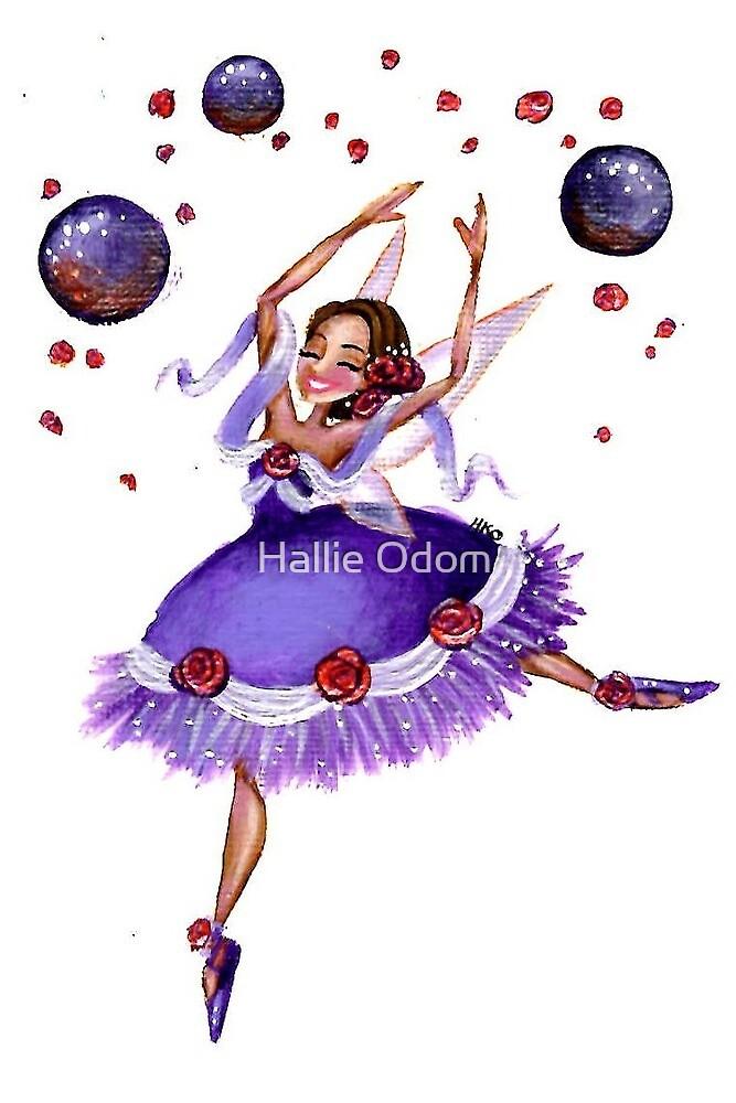 Nutcracker Sugar Plum Fairy Dancer by Hallie Odom