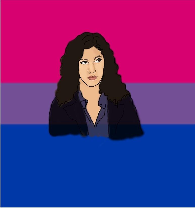 ROSA DIAZ BI FLAG by achelois
