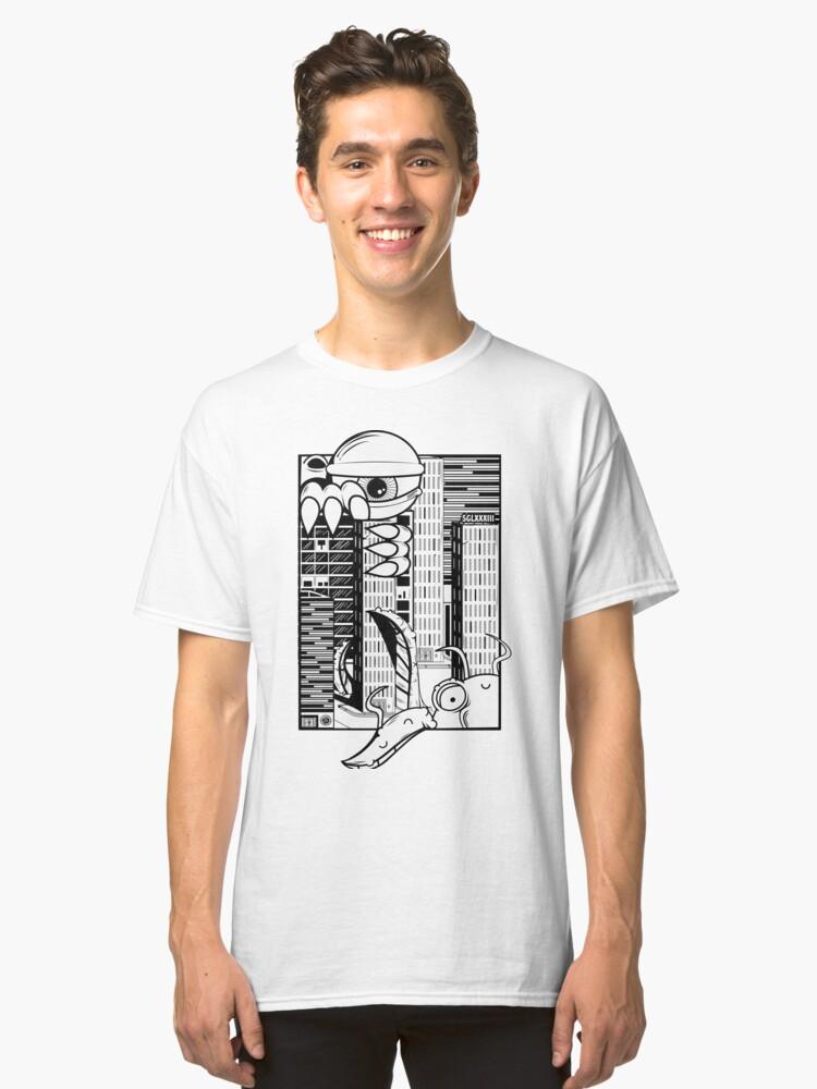 alien invasion Classic T-Shirt Front