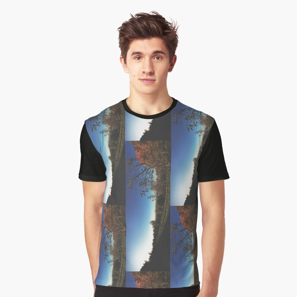 Nature Graphic T-Shirt Front
