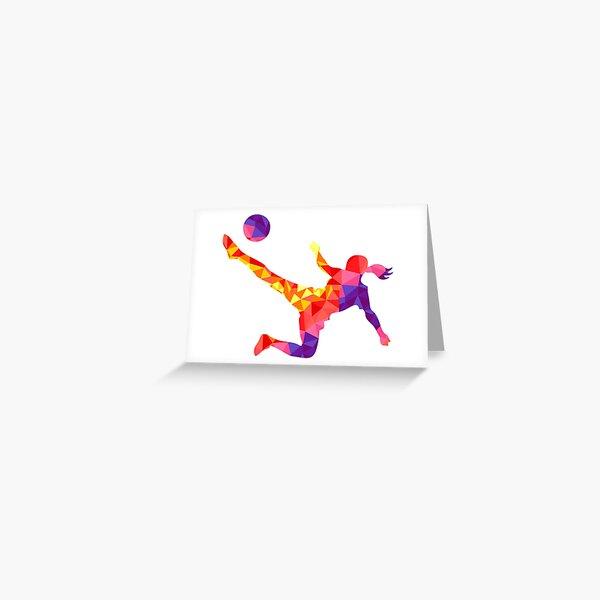 Kick It! Greeting Card