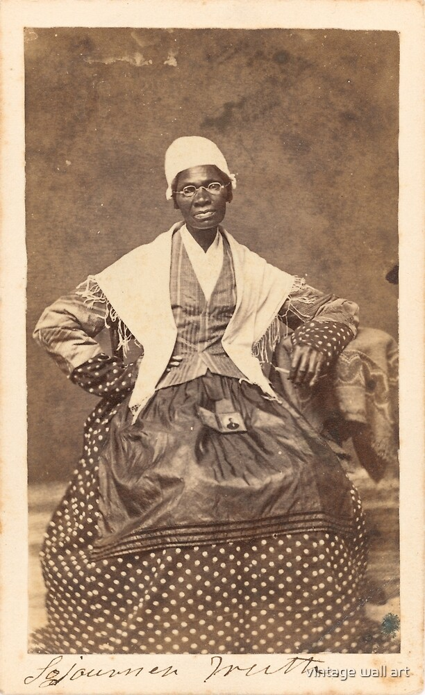 Sojourner Truth Vintage Photo, 1863 by fineearth