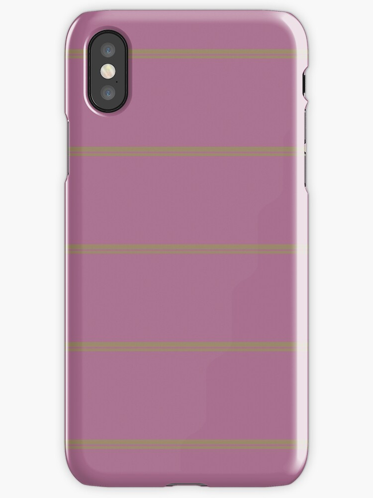 Pink/Brown Double Stripes by sidebar