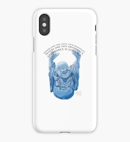 Abundance Buddha iPhone Case