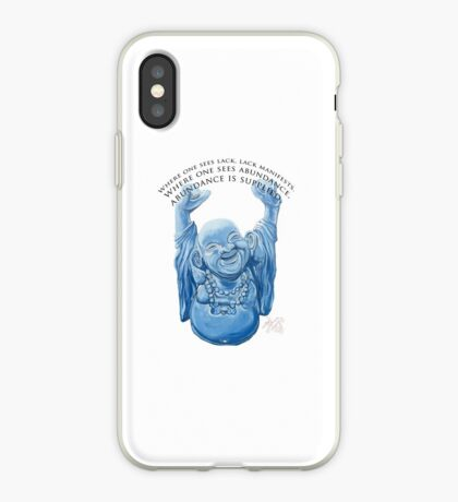 Abundance Buddha iPhone Case
