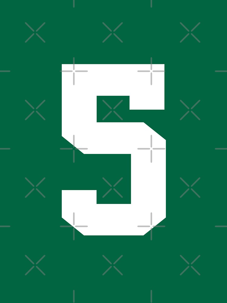 5. The number five on shirts and stuff. by Swaygo