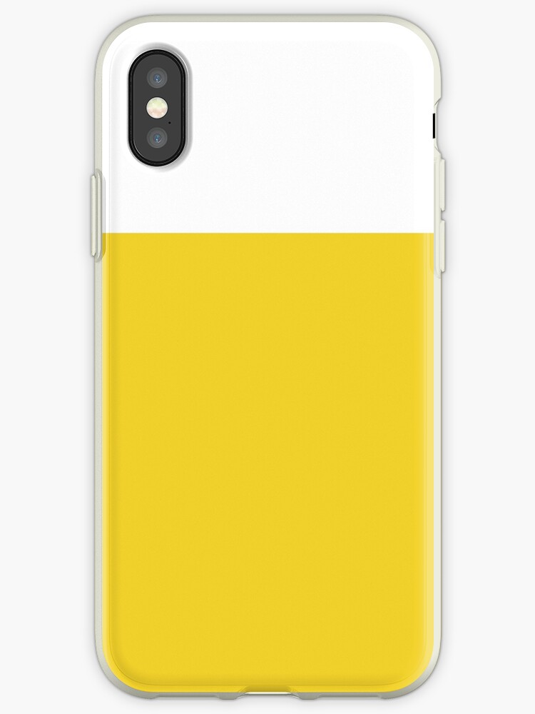White/Yellow Colorblock by sidebar