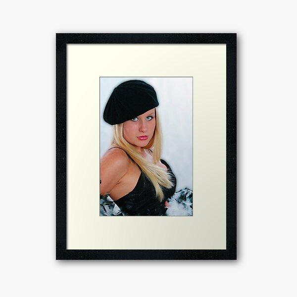 French Beauty Framed Art Print