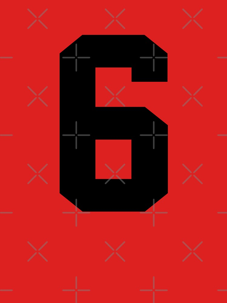 6. The number six on shirts and stuff. by Swaygo